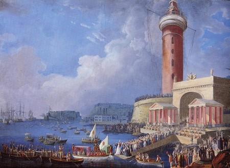 Saverio Della Gatta, Il ritorno di Maria Carolina dalla Sicilia a Napoli (1799)