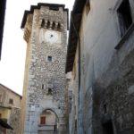 La tour de l'horloge de Fontecchio, crédit photo Jean-Michel Véry