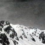 Untitled (Gray palette #2), 2011, olio su tela, 80x 100 cm.