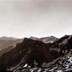 Untitled (Gray palette), 2011, olio su tela, 80x 100 cm.