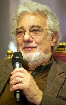 Placido Domingo. Foto Vincenzo Basile
