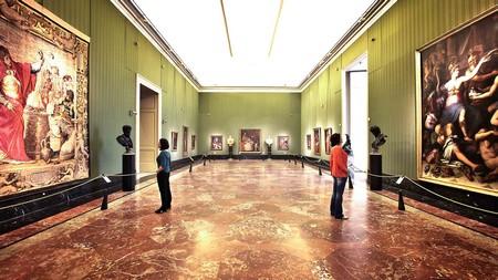 Parte della collezione Farnese foto Giuseppe Salviati