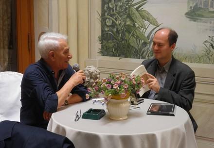 Raffaele Urraro, Bologna 8 giugno 2016, Un thè con la poesia, incontro organizzato da Cinzia Demi