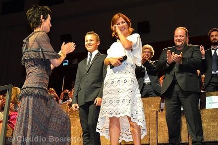 Alix Delaporte, Romain Paul e Clotilde Hesme