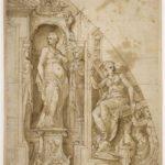 Giovanni Battista Castello, «Projet d'architecture feinte»