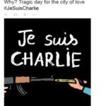 L'hashtag solidale per Charlie Hebdo