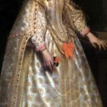Alessandro Varotari, detto Padovanino - Ritratto di dama (particolare)