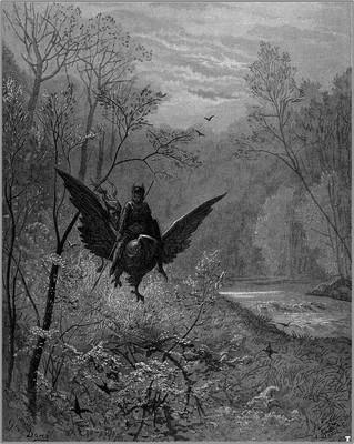 Orlando furioso, Gustave Doré