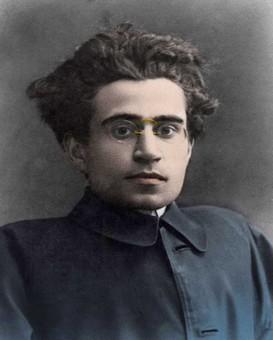 Ritratto di Antonio Gramsci (1891-1937). Foto Bianchetti. Leemage