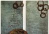 'Autunno 99' 1999 - Ferro, 160x180 cm