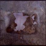 'Fotografia aerea n1' 2000 - Ferro, acciaio, 210x100 cm