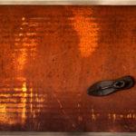 'Passi' 2002 - Ferro, ghisa, 180x60 cm