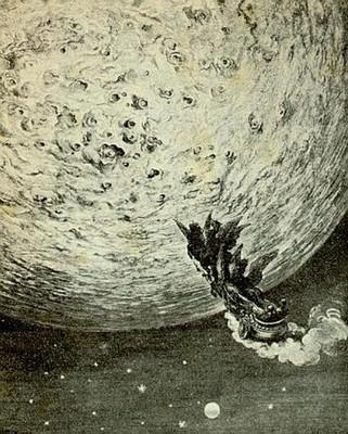 Astolfo sulla luna, Gustave Doré