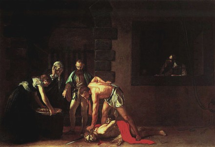 Michelangelo Merisi da Caravaggio – Decollazione di San Giovanni Battista