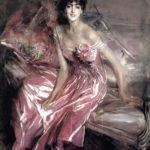 Boldini, Signora in rosa, Archivio Fotografico Provincia di Ferrara