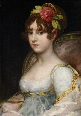 Francisco de Goya y Lucientes - Portrait de la comtesse de Haro - © Collection Alicia Koplowitz