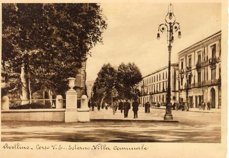 Villa Comunale, Corso Vittorio Emanuele, dal sito Avellinesi.it