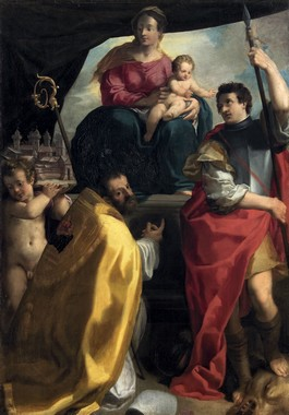 Carlo Bononi, La Vergine in trono con i santi Maurelio e Giorgio, c. 1604, Vienna, Kunsthistorisches Museum
