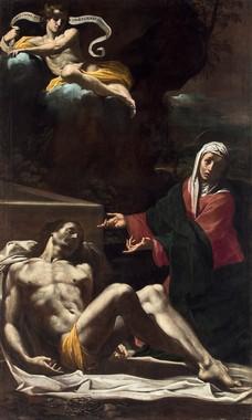 Carlo Bononi, Pietà, c. 1623, Ferrara, Chiesa delle Sacre Stimmate