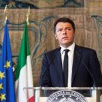 Il presidente del Consiglio Matteo Renzi, cerimonia di apertura