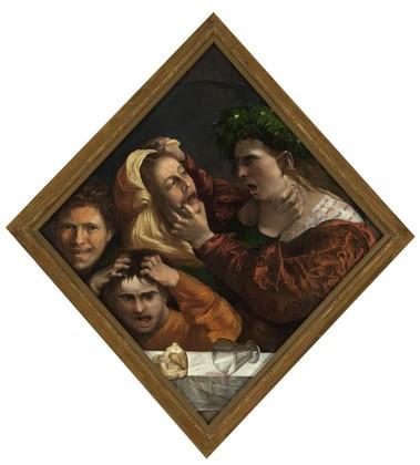 Dosso Dossi, Scena allegorica a Palazzo Cini