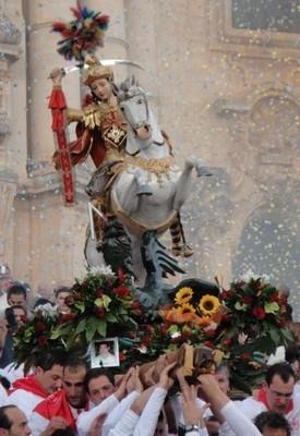 Festa di San Giorgio, Sicilia
