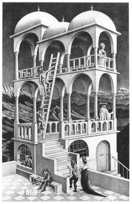 Escher, Belvedere (1958)