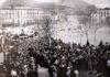 Folla di fedeli di fine '800 ad Atripalda