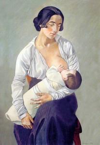 Gino Severini, Maternité, 1916