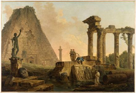 Hubert Robert (1733-1808), Ruines romaines, 1776 ©Petit Palais/Roger-Viollet