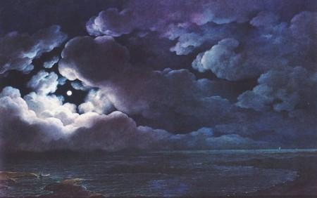 Giuseppe Pietro Bagetti, Notturno con effetto di luna, 1820-1830, Torino, Palazzo Reale