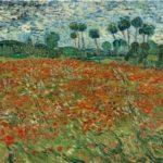 Vincent van Gogh, Campo di papaveri, 1890, L'Aia, Gemeentemuseum prestito del Cultural Heritage Agency of the Netherlands