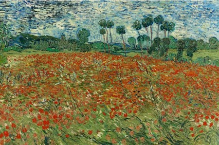 Vincent van Gogh, Campo di papaveri, 1890, L'Aia, Gemeentemuseum prestito del Cultural Heritage Agency of the Netherlands