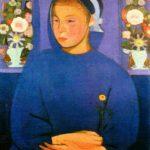 Gino Rossi, La fanciulla del fiore, 1909