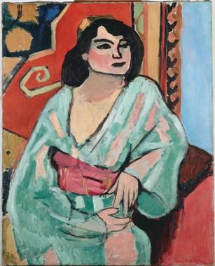 Matisse, L'algerina, 1909