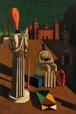 Giorgio de Chirico, Le Muse inquietanti, 1916. Collezione privata.