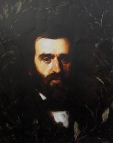 Ritratto di Giuseppe Verdi (1858), Domenico Morelli e Filippo Palizzi, Piacenza, collezione Carrara Verdi