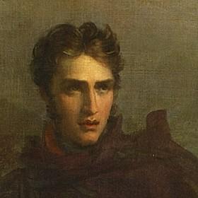 Lord Oswald Nelvil, particolare del quadro di F. Gérard