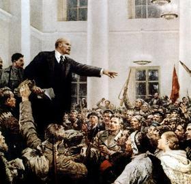 Lenin, San Pietroburgo, 1917