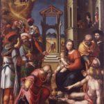 Gaspare Sacchi, Adorazione dei Re Magi
