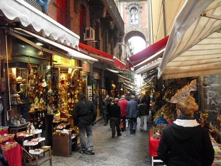 San Gregorio Armeno, la rue des crèches
