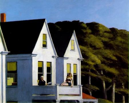 Edward Hopper, Second story sunlight (1960), Whitney Museum