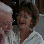 Donald Sutherland insieme ad Helen Mirren nel film di Virzi