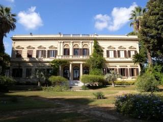Villa Whitaker à Palerme. Bien FAI.