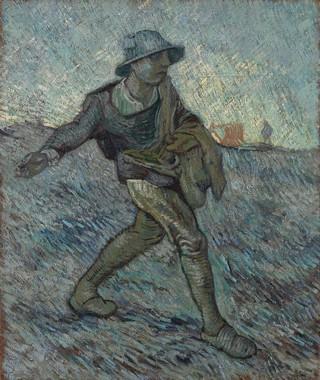 Vincent van Gogh, Il Seminatore, 1890 (da Millet)