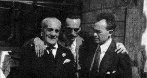 Scarpetta, Eduardo e Viviani.