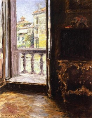 WILLIAM MERRITT CHASE, A Venetian Balcony, 1913