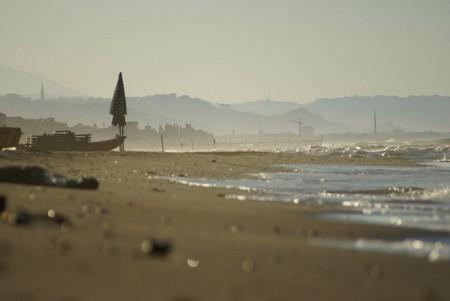 La plage de Francavilla en hiver. Photo google.