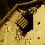 Abbazia di Sant'Eutizio dopo il crollo