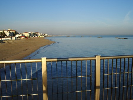 Francavilla al Mare, vue de la jetée. Photo François Fasoli.